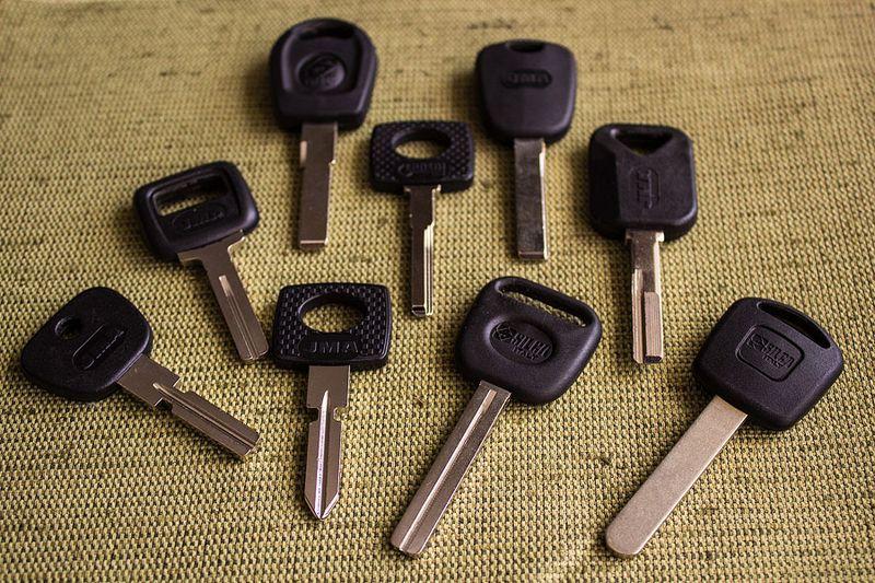 Автомобильные ключи от иномарок