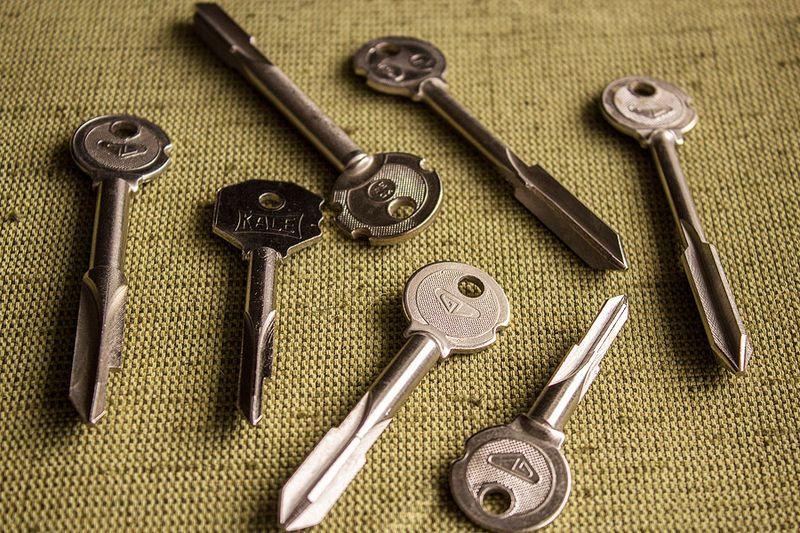 Крестобразные ключи